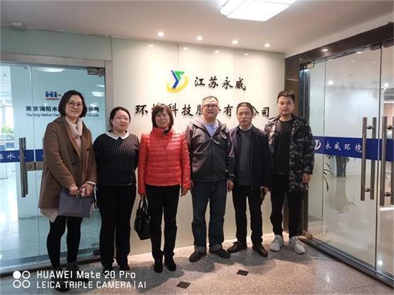 2019年3月27日江东商贸区对龙8国际娱乐网页版环境进行现场考察