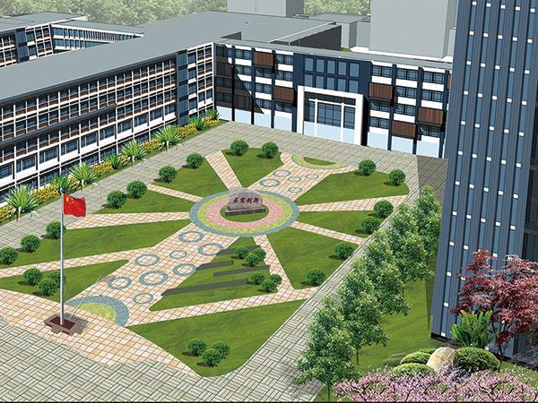 南京财经学校校区景观龙8国际信誉平台龙8娱乐网页版